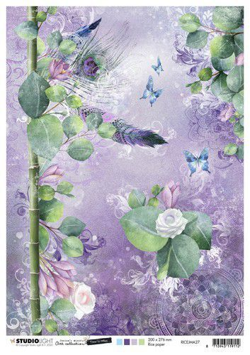 Studio Light Rice Paper A4 vel Jenine's Mindful Art 5.0 nr.27 (08-20)