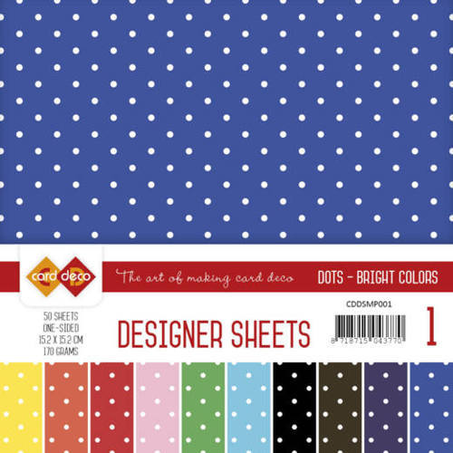 Designer Sheets Mega Pack 1 Bright Colors