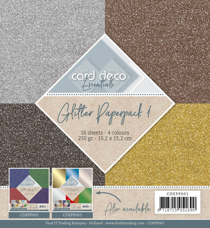 Glitter Paperpack 1