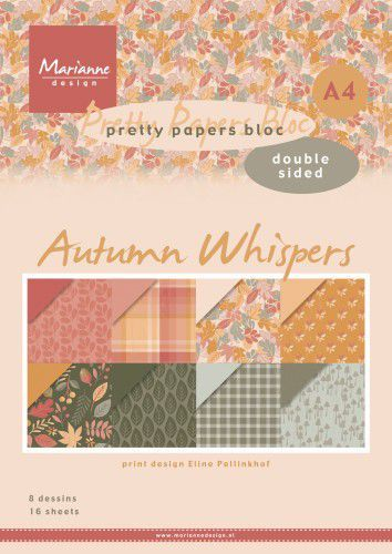 Pretty Papers Bloc PB7059 Eline's Autumn Whispers