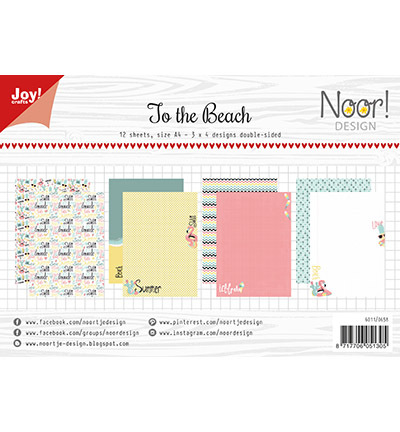 Papierset - Noor - Design To the beach