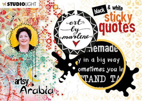 Studio Light Sticker Art By Marlene Quotes Artsy Arabia nr.03 (09-20)