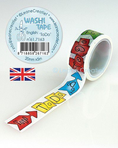 LeCrea - Washi tape To Do 20mmx5m. 61.7163 (09-20)