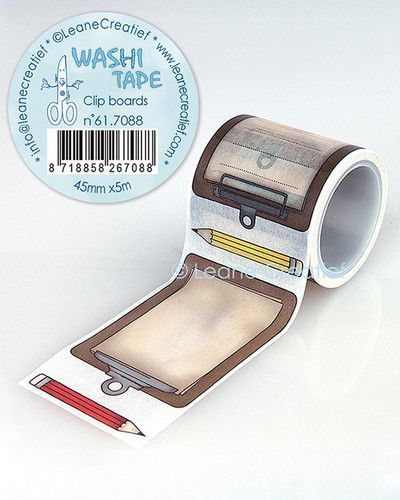 LeCrea - Washi tape Clip boards 45mmx5m. 61.7088 (09-20)