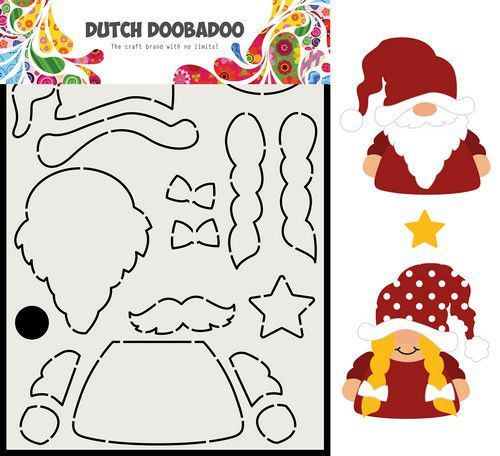 Dutch Doobadoo Card Art Built up Gnome 470.713.815 (09-20)