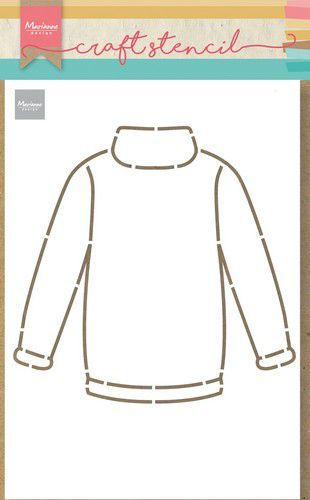 Marianne Design Craft Stencil Sweater PS8076