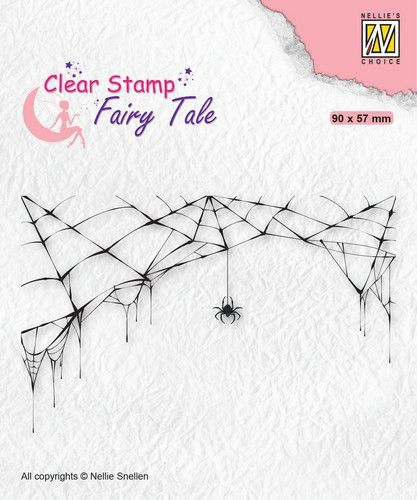 Nellie's Choice Clearstamp silhouette Fairy Tale Nr 24 FTCS024 (10-20)