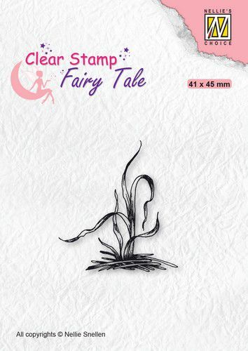 Nellie's Choice Clearstamp silhouette Fairy Tale Nr 28 FTCS028 (10-20)