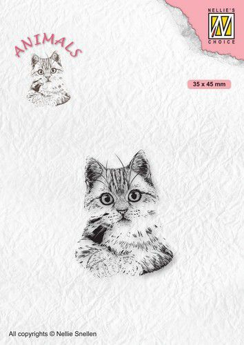 Nellies Choice Clearstempel - Poes ANI021 (10-20)