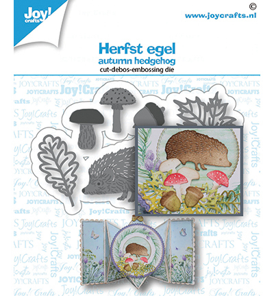Joy!Crafts mallen Herfst egel