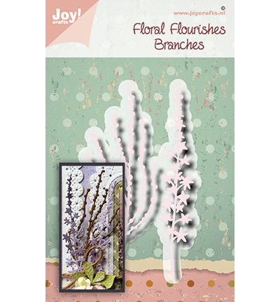 Joy!Crafts mallen Noor - Floral Flourishes - Branches