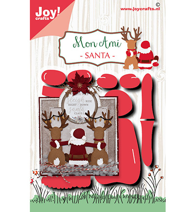 Joy!Crafts mallen Noor Design Santa