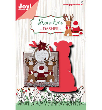 Joy!Crafts mallen Noor Design Rendier Dasher