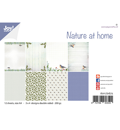 Joy!Crafts Papierset - Design Nature at home