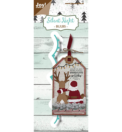 Joy!Crafts mallen Noor Design  Silent Night - Lampjes