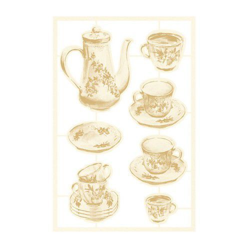 Piatek13 - Chipboard embellishments Forest tea party 02 P13-FOR-44 (12-20)