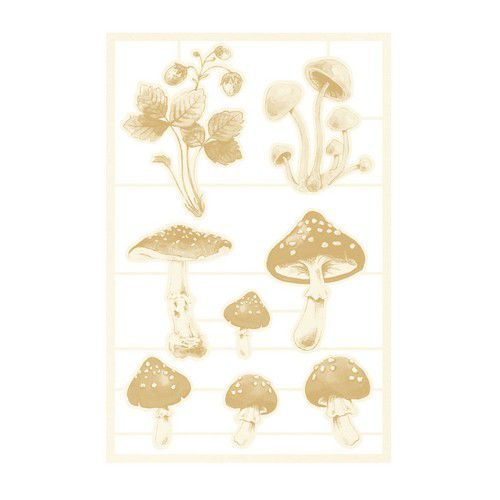 Piatek13 - Chipboard embellishments Forest tea party 03 P13-FOR-45 (12-20)