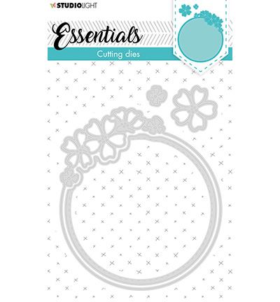 Studio Light mallen Small Shape Round Flower Essentials nr.387