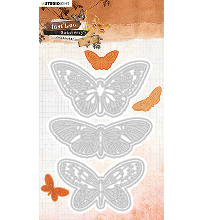 Studio Light mallen Butterfly Collection nr.19