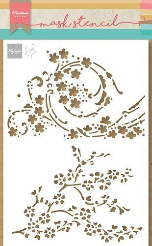 Marianne D Craft Stencil - Tiny's Bloesem PS8084 150x210mm (03-21)