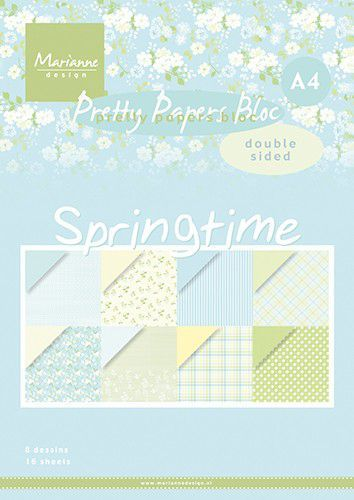 Pretty Papers Bloc PK9174 Springtime