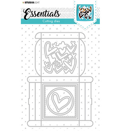 SL Cutting Die Giftbox Multi Merci Essentials nr.394
