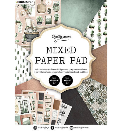 SL Mixed Paper Pad Pattern paper Essentials nr.157