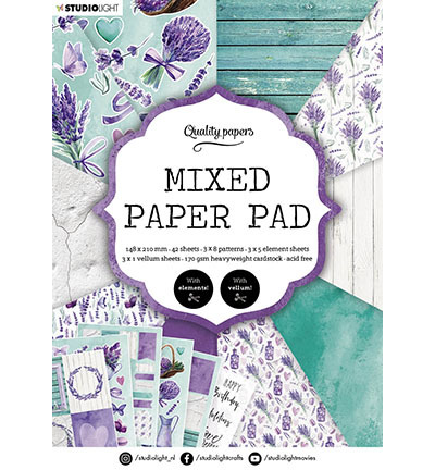 SL Mixed Paper Pad Pattern paper Essentials nr.158