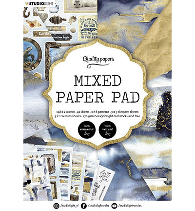 SL Mixed Paper Pad Pattern paper Essentials nr.159