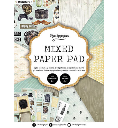 SL Mixed Paper Pad Pattern paper Essentials nr.160