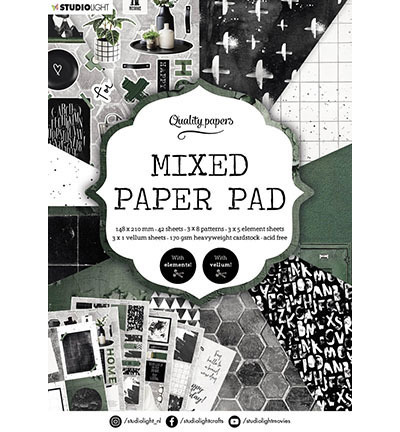 SL Mixed Paper Pad Pattern paper Essentials nr.161