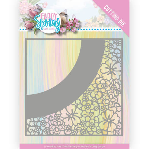 Dies - Amy Design - Enjoy Spring - Flower Frame